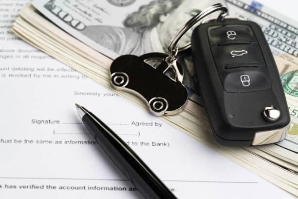 ga een auto lening aan